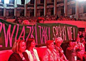 Grodzka: Tusk nie chce załatwić sprawy związków