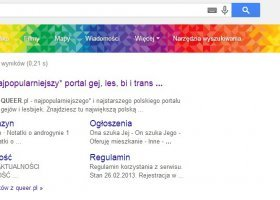Google na tęczowo