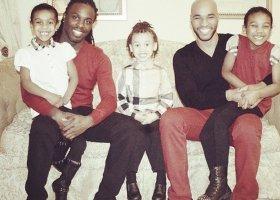 Tata, tata i trójka dzieci
