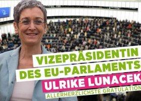 Lunacek wiceprzewodniczącą Parlamentu Europejskiego