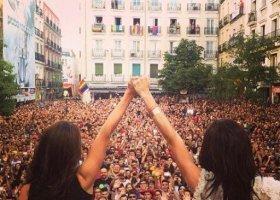 Milion osób na paradzie w Madrycie