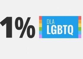 Jest lepiej? 1 procent dla LGBT