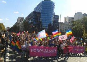 Serbia: ulicami Belgradu przeszła Parada Równości!