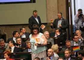 Palikot o Grodzkiej: uwierzyła, że osoba transseksualna może być liderem partii