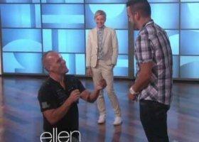 Gejowskie oświadczyny u Ellen