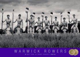 Wioślarze z Warwick ponownie rozebrali się dla LGBT