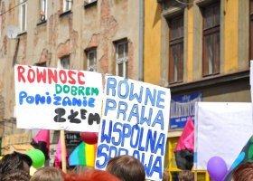 Czy dyskryminacja LGBT w Małopolsce ma się dobrze?