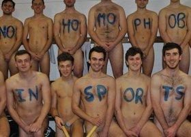 Hokeiści walczą z homofobią w sporcie (bez ubrań)