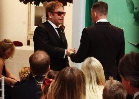 Elton John i David Furnish małżonkami
