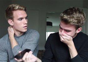 Coming out bliźniaków hitem w sieci