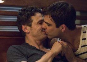 Gejowski pocałunek Franco i Quinto