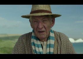 Ian McKellen jako Sherlock Holmes