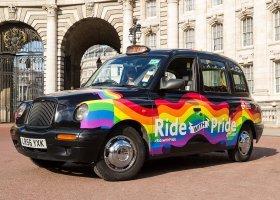 Tęczowa taksówka będzie wozić ludzi w Londynie
