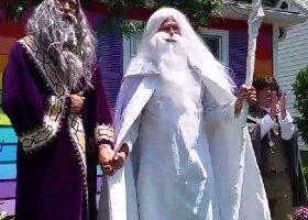 Dumbledore i Gandalf wzięli ślub na złość homofobom