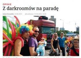 """Dziennikarz """"śledczy"""" RP na tropie rozwiązłych gejów"""
