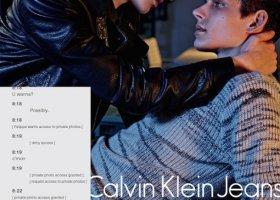 Calvin Klein stawia na randki i smsy