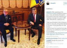 Elton John: chcę pogadać z Putinem o prawach gejów i lesbijek