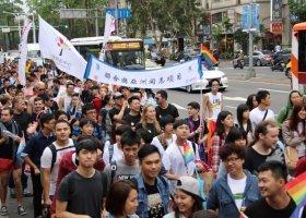 80 tys. osób na paradzie w Tajpej