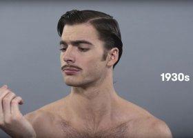 100 lat męskiego piękna w 72 sekundy