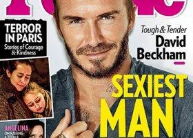 David Beckham najseksowniejszym mężczyzną świata