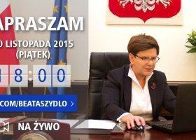 Zadaj pytanie premier Szydło!