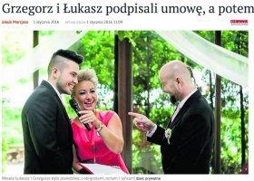 Kolejne wielkie gejowskie wesele