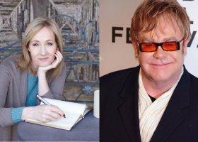 Elton John i JK Rowling najbardziej hojnymi celebrytami