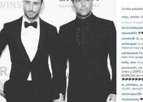 Ricky Martin pokazał nowego chłopaka
