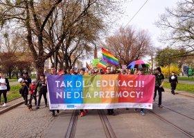 Promocja LGBT i genderyzmu na Uniwersytecie Łódzkim