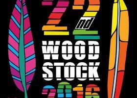 Tęczowa wioska na Woodstocku