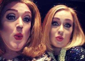 Adele zachwycona swoją drag queen
