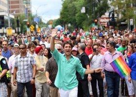 Trudeau na Montreal Pride: prawa LGBTQ są prawami człowieka
