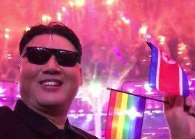 Kim Dzong Un z tęczową flagą podczas zamknięcia igrzysk?