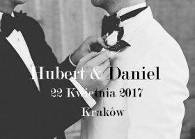 Hubert i Daniel: nasz ślub to manifest