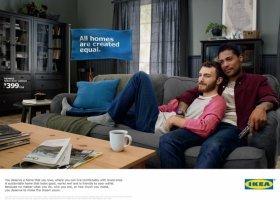 IKEA pyta o amerykański sen i reklamuje się gejowską parą