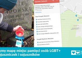 Tworzą mapę miejsc pamięci osób LGBT