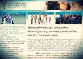 Polskie Towarzystwo Seksuologiczne mówi nie homofobii