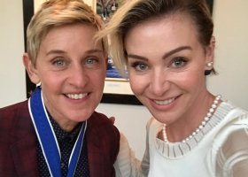 Ellen z Medalem Wolności