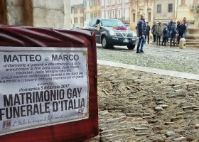 Związki partnerskie i pogrzeb Italii