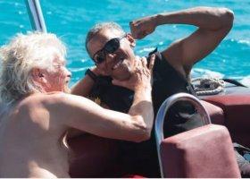 Bromance Obamy i Bransona