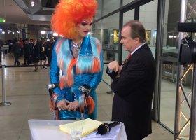 Niemiecka drag queen (też) wybierała prezydenta