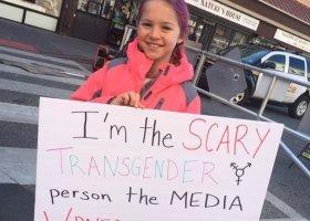 To ja jestem tą transpłciową osobą, którą Was straszą każdego dnia