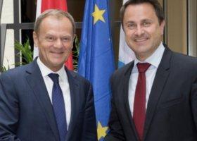 Ujawniony premier Luksemburga gratuluje Tuskowi i krytykuje nasze władze