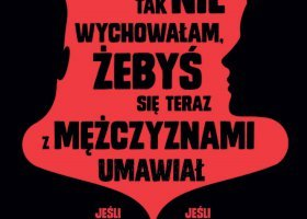Przemoc domowa wobec osób LGBT na plakatach w Warszawie