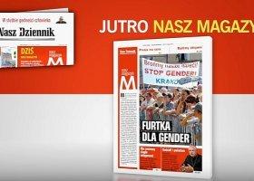 """""""Nasz Dziennik"""" straszy homoseksualizmem w szkołach"""