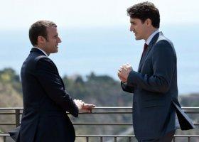 Bromance Macrona i Trudeau