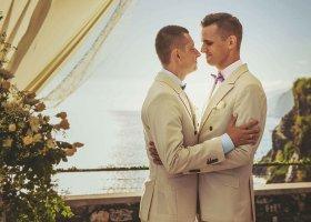 Kuba i Dawid na ślubnym kobiercu