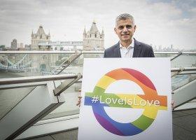 Burmistrz Londynu: miłość to miłość