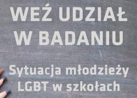 Sytuacja młodzieży LGBT w szkołach