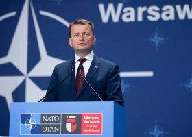 Minister Błaszczak chce, by blokujący manifestacje płacili za jej ochronę